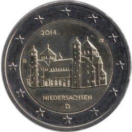 """Deutschland 2 Euro 2014 """"Niedersachsen: St. Michael (Hildesheim)""""  """"D"""""""