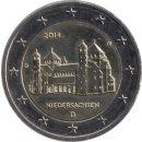 """Deutschland 2 Euro 2014 """"Niedersachsen: St. Michael..."""