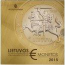 Litauen KMS 1 Cent-2 Euro im Blister BU