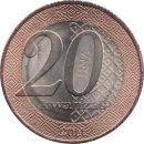Angola 20 Kwanzas 2014