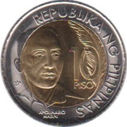 Philippinen 10 Piso 2014 150th Anniversary of the Birth of Apolinario Mabini