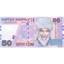 Kirgistan 50 Som 2002
