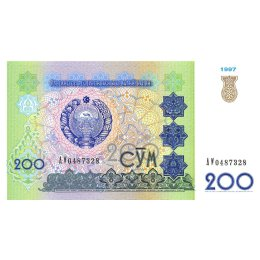 Usbekistan 200 Som 1997
