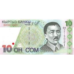 Kirgistan 10 Som 1997