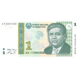 Tadschikistan 1 Somoni 1999