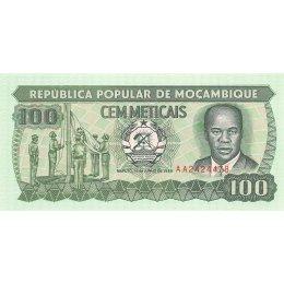 Mosambik 100 Meticais 1989