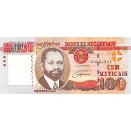Mosambik 100 Meticais 2006