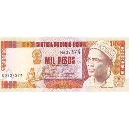 Guine-Bissau 1000 Pesos 1990