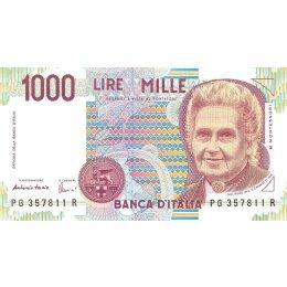 Italien 1000 Lire 1990