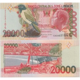 São Tomé und Príncipe 20000 Dobras 2010