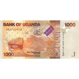 Uganda 1000 Shillings 2010