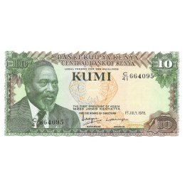 Kenia 10 Shillings 1978