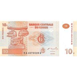 Kongo 10 Francs 2003