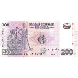Kongo 200 Francs 2007
