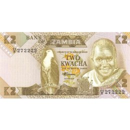 Sambia 2 Kwacha 1980