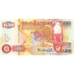 Sambia 50 Kwacha 2007