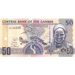 Gambia 50 Dalasis 2013