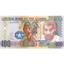 Gambia 100 Dalasis 2013