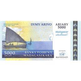 Madagaskar 5000 Ariary 2007-2012