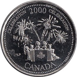 Kanada 25 Cents 2000 Celebration