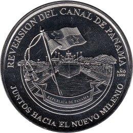 "Panama 1 Balboa 2004 ""Handover of the Canal"""