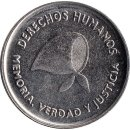 "Argentinien 2 Pesos 2006 ""Defense of Human Rights"""