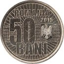 "Rumaenien 50 Bani 2015 ""10th anniversary of the Currency Redenomination"""