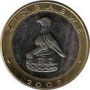 "Simbabwe 5 $ 2002 ""Nashorn"""