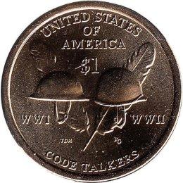"USA 1 Dollar 2016 ""Native American"" D"