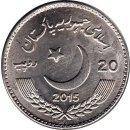 "Pakistan 20 Rupees 2015 ""Pakistan-China Year of Friendly Exchange"""