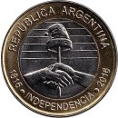"Argentinien 2 Pesos 2016 ""Bicentenary of the..."