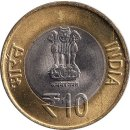 "Indien 10 Rupees 2012 ""60th Anniversary of Indian..."