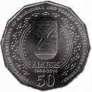 "Australien 50 Cents 2014 ""50th Anniversary of..."