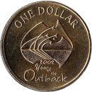 "Australien 1 Dollar 2002 ""Year of the Outback"""