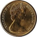 "Australien 1 Dollar 1984 ""2nd Portrait Queen Elizabeth II facing right"""