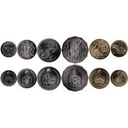 Australien 5, 10, 20, 50 Cents 1, 2 Dollars 2016