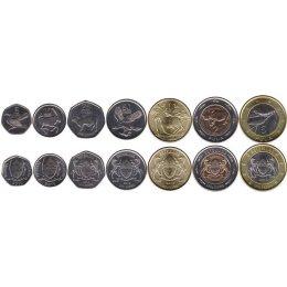 Botswana 5, 10, 25, 50 Thebe 1, 2, 5 Pula 2013