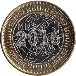 Simbabwe 1 Dollar 2016 BOND COIN