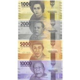 Indonesien 1000, 2000, 5000, 10000 Rupiah 2016