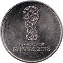 "Russland 25 Rubel 2016 ""Fussball WM 2018"""