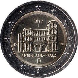 """Deutschland 2 Euro 2017 """"Porta Nigra""""  """"D"""""""