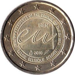 """Belgien 2 Euro 2010 """"Belgische EU-Ratspräsidentschaft"""""""