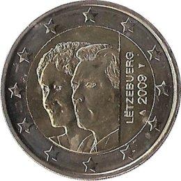 "Luxemburg 2 Euro 2009 ""Großherzogin Charlotte"""