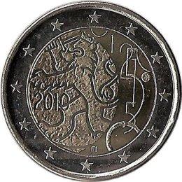 """Finnland 2 Euro 2010 """"150 Jahre finnische Währung"""""""
