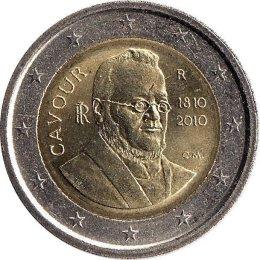 """Italien 2 Euro 2010 """"Camillo Benso"""""""