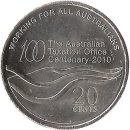 "Australien 20 Cent 2010 ""The Australian Taxation..."