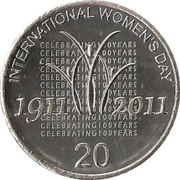 Australien 20 Cent 2011 Womens Day
