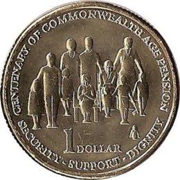 "Australien 1 Dollar 2009 ""Age Pension"""