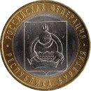 Russland 10 Rubel 2011 Republic of Buryatia