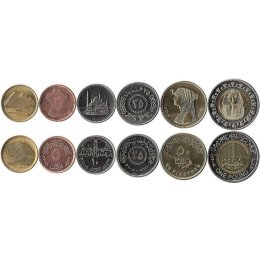 Aegypten 1-50 Piastres, 1 Pound
